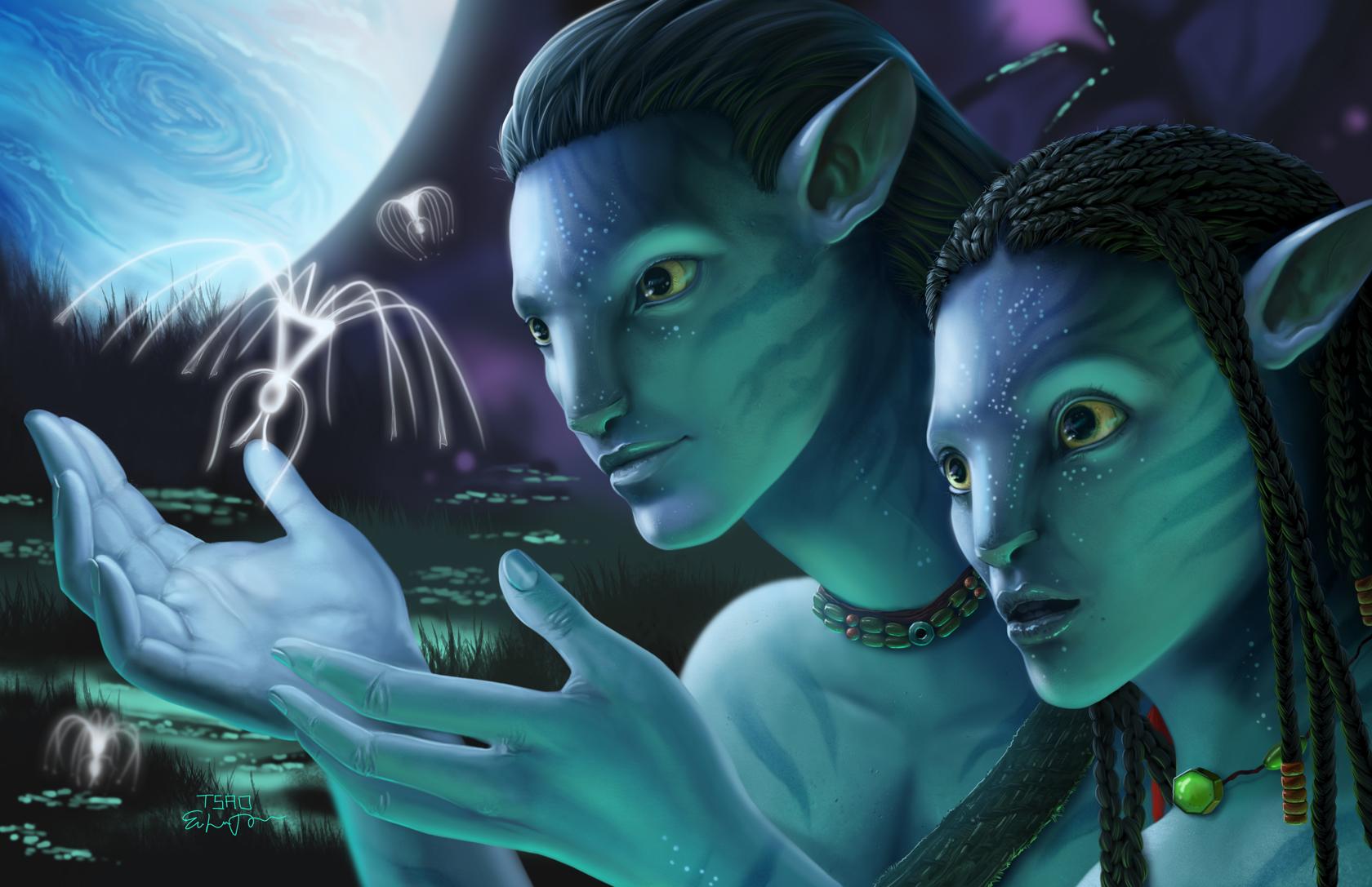 Наверное все посмотрели фильм Аватар ...: er404.ru/2012/07/avatar-olonxo