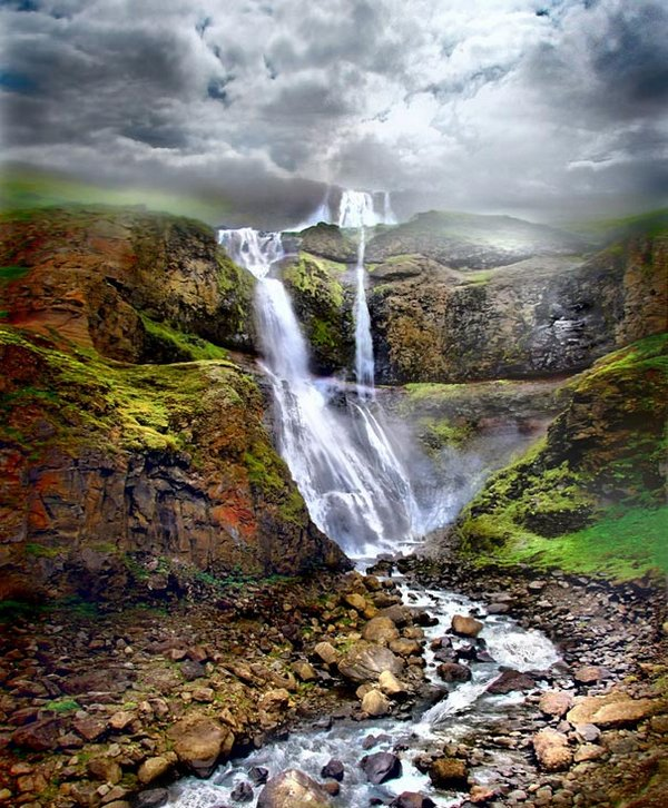 Горячие гейзеры Исландии
