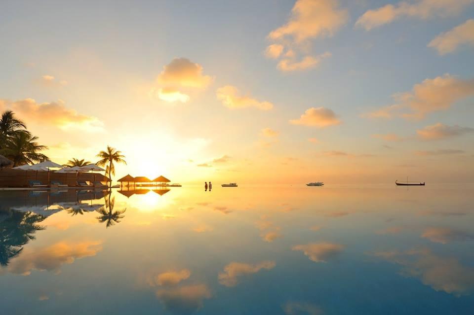 Когда небеса сливаются с океаном... Мальдивы